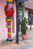 Bahnhof Uelzen Hundertwasser lizenzfreie stockfotografie