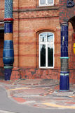 Bahnhof Uelzen Hundertwasser stockfotografie