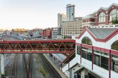 Bahnhof Vancouvers Stockbilder