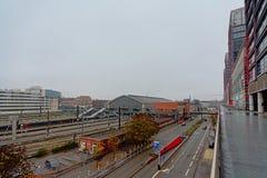 Bahnhof von Lille Flandres, Frankreich stockbild
