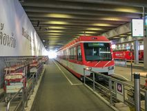 Bahnhof Zermatt lizenzfreies stockbild