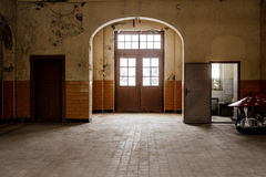 Bahnhofshalle Стоковые Фотографии RF