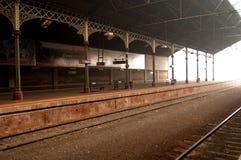 Bahnhofsplattform 2 Geelong Lizenzfreies Stockbild