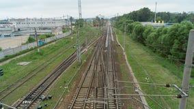 Bahnkreuzung Lizenzfreie Stockfotografie