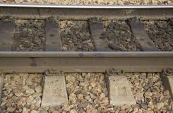 Bahnlinie lizenzfreie stockbilder