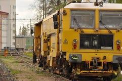 Bahnmaschine Stockbild