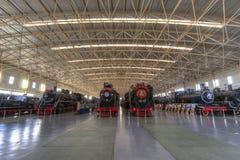 Bahnmuseum stockfoto