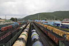 Bahnnabe Lizenzfreie Stockfotografie