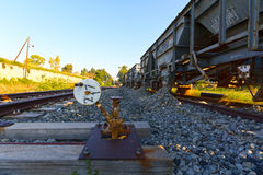 Bahnreparaturlastwagen Lizenzfreies Stockbild