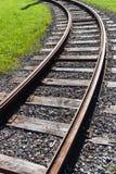 Bahnschienenstraßenspur Lizenzfreie Stockbilder