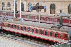 Bahnstation Stockbild