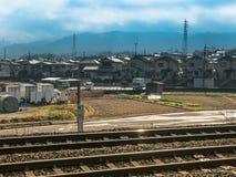 Bahnstation Lizenzfreie Stockfotografie