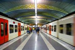Bahnstation Lizenzfreies Stockfoto