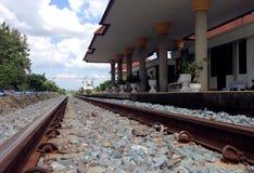 Bahnstation Lizenzfreie Stockbilder