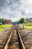 Bahnstation Stockfotos