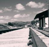Bahnstation Estacion De Archidona Stockfotos