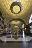 Bahnstation in Frankreich, Barcelona Spanien Lizenzfreies Stockfoto