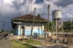 Bahnstation in Hershey, Kuba Lizenzfreies Stockfoto