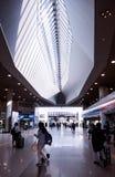Bahnstation an Kansai-Flughafen Lizenzfreie Stockfotografie