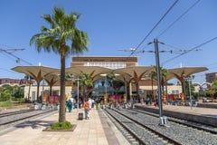 Bahnstation in Marrakesch, Marokko Stockfoto