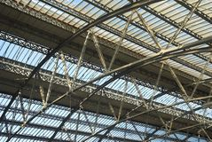 Bahnstation-Struktur Lizenzfreie Stockfotografie