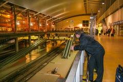 Bahnstation von Castellon lizenzfreies stockfoto