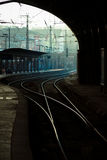 Bahnstrecken Lizenzfreie Stockfotos