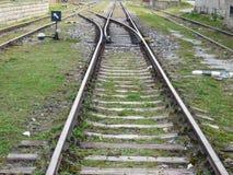 Bahnstrecken Lizenzfreie Stockfotografie