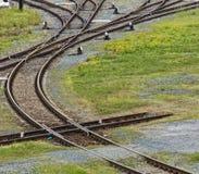 Bahnstrecken Stockfoto