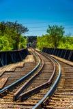 Bahnstrecken in Richmond, Virginia lizenzfreie stockfotografie