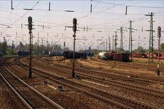 Bahnsystem Stockbilder
