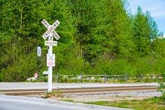 Bahnzeichen Lizenzfreie Stockbilder