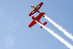 BAHRAIN 16. Dezember 2011: Bahrain-Nationaltag Airshow Lizenzfreies Stockfoto