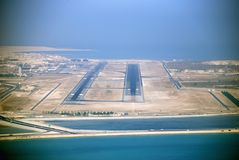 Bahrain Airport Runway 30R/L 2007 Royalty Free Stock Photography