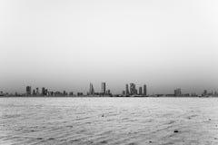 Bahrain Buildings at Bay Royalty Free Stock Image