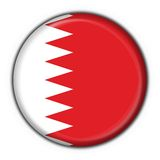 Bahrain button flag round shape Stock Photo