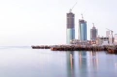 Bahrain byggnader Royaltyfri Bild