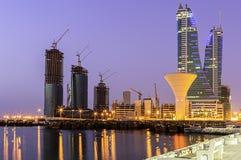 Bahrain byggnader Royaltyfri Foto