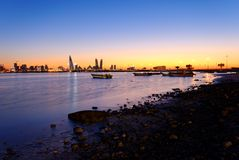 Bahrain coast Royalty Free Stock Photography