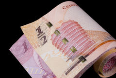 Bahrain Currency Banknotes Royalty Free Stock Images