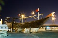 Bahrain Dow Arkivbild