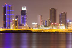 Bahrain Financial Area Stock Photo