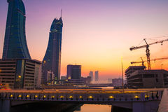 Bahrain Financial Harbor Royalty Free Stock Photography