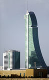 The Bahrain Financial Harbour (BFH) commercial buildings are lo Stock Images
