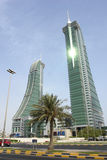 bahrain finansiell hamn Royaltyfria Bilder
