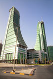 bahrain finansiell hamn manama Royaltyfria Bilder