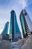 Bahrain-Finanzhafen Lizenzfreies Stockbild