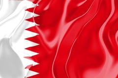bahrain flaga Obraz Royalty Free