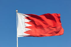 bahrain flagga Royaltyfri Foto