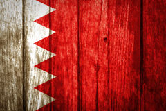 Bahrain-Flagge Lizenzfreies Stockbild